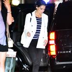 Katie Holmes and Suri Cruise seen going for dinner at Nobu Restaurant 122712