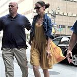 Katie Holmes heads to an office building in NYC  119950