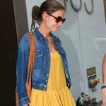 Katie Holmes heads to an office building in NYC  119953