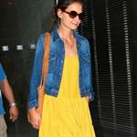 Katie Holmes heads to an office building in NYC  119955