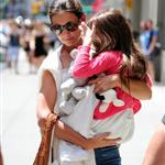 Katie Holmes out shopping for groceries with Suri in NYC 119959