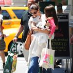 Katie Holmes out shopping for groceries with Suri in NYC 119960