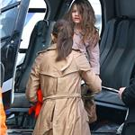 Katie Holmes Suri Cruise helicopter ride in New York March 2011  81274