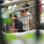 Katie Holmes and her mother Kathleen take Suri to the Central Park Zoo 120323