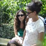 Katie Holmes and her mother Kathleen take Suri to the Central Park Zoo 120342