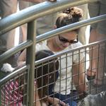 Katie Holmes and her mother Kathleen take Suri to the Central Park Zoo 120345