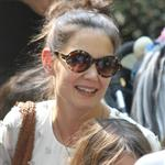 Katie Holmes and her mother Kathleen take Suri to the Central Park Zoo 120351