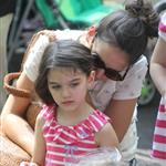 Katie Holmes and her mother Kathleen take Suri to the Central Park Zoo 120353