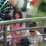 Katie Holmes and her mother Kathleen take Suri to the Central Park Zoo 120354