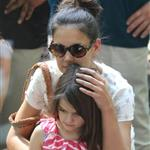 Katie Holmes and her mother Kathleen take Suri to the Central Park Zoo 120359