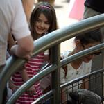 Katie Holmes and her mother Kathleen take Suri to the Central Park Zoo 120371