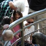 Katie Holmes and her mother Kathleen take Suri to the Central Park Zoo 120372