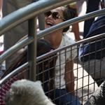 Katie Holmes and her mother Kathleen take Suri to the Central Park Zoo 120375