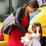 Katie Holmes and Suri Cruise go to see The Odd Life of Timothy Green with her publicist Leslie Sloane and daughter at Lowes Lincoln Square in NYC 123804