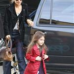 Katie Holmes and Suri at Granville Island in Vancouver and Vera Burger 80769