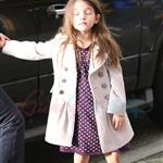 Katie Holmes and Suri at Granville Island in Vancouver and Vera Burger 80779