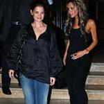 Victoria Beckham and Katie Holmes shop at Barneys, January 2006 124114