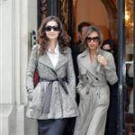 Victoria Beckham and Katie Holmes out in Paris, October 2006 124126