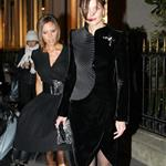 Victoria Beckham and Katie Holmes out in Paris, January 2007 124127