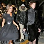 Victoria Beckham and Katie Holmes out in Paris, January 2007 124128