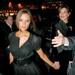 Victoria Beckham and Katie Holmes out in Paris, January 2007 124129