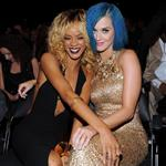 Katy Perry and Rihanna at the 54th Annual Grammy Awards 105648