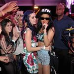 Katy Perry with Rihanna and Shannon Woodward at Coachella 2012 112070