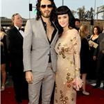 Katy Perry and Russell Brand at the Grammy Awards 2010 54415