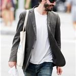 Keanu Reeves goes shopping for groceries in New York 62717