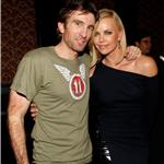 Charlize Theron with Sharlto Copley at Spike TV Guys Choice Awards 62726