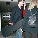 Clean cut Keanu Reeves arrives at LAX  92003