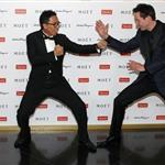 Keanu Reeves and Donnie Yen at the Power of Film Gala at the Grand Hyatt Hong Kong's Grand Ballroom 109318