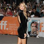 Stacy Keibler is the first to arrive on Ides of March carpet at TIFF 2011  93849