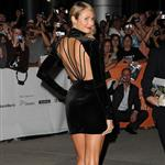 Stacy Keibler is the first to arrive on Ides of March carpet at TIFF 2011  93850