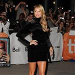 Stacy Keibler is the first to arrive on Ides of March carpet at TIFF 2011  93851
