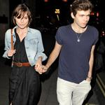Keira Knightley and James Righton leave the Wolsley Restaurant in London 116037
