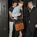 Keira Knightley and James Righton leave the Wolsley Restaurant in London 116044