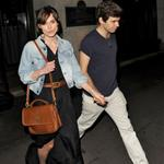 Keira Knightley and James Righton leave the Wolsley Restaurant in London 116045