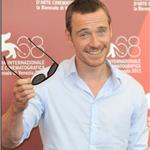 Michael Fassbender at A Dangerous Method photo call in Venice  93212