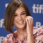 Keira Knightley at A Dangerous Method press conference  94053