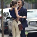 Mark Ruffalo and Keira Knightley on the set of Can a Song Save Your Life?  121296