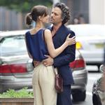 Mark Ruffalo and Keira Knightley on the set of Can a Song Save Your Life?  121304