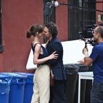 Mark Ruffalo and Keira Knightley on the set of Can a Song Save Your Life?  121307