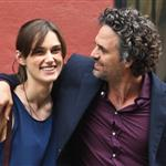 Mark Ruffalo and Keira Knightley on the set of Can a Song Save Your Life?  121311