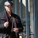 Kellan Lutz arrives in Vancouver 45387