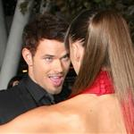 Kellan Lutz and his real girlfriend at the Breaking Dawn Part 1 premiere  98400