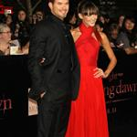 Kellan Lutz and his real girlfriend at the Breaking Dawn Part 1 premiere  98406