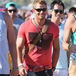 Kellan Lutz with friends at Coachella 2012 111558