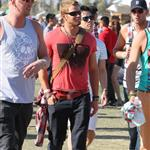Kellan Lutz with friends at Coachella 2012 111563