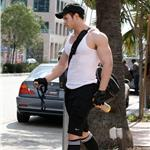 Kellan Lutz after a work out in Hollywood  79925